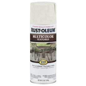 Rust-Oleum Stops Rust Satin Caribbean Sand Textured Spray Paint (Actual Net Contents: 12-oz)