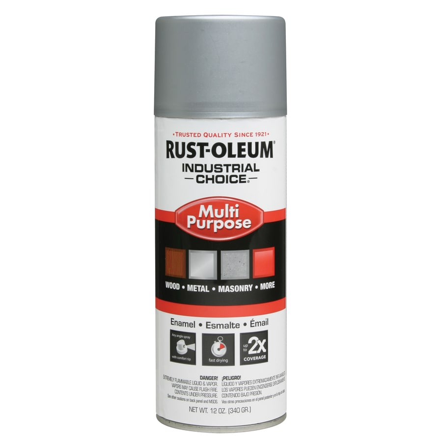 Shop Rust Oleum Industrial Choice Dull Aluminum Fade