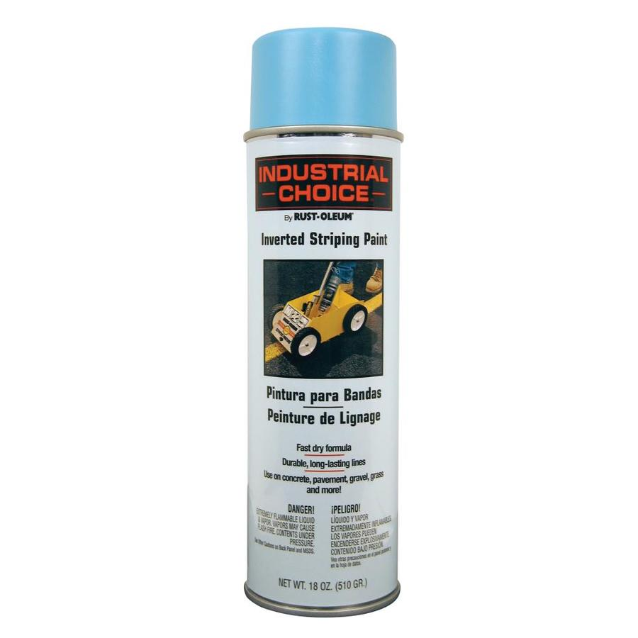Shop Rust Oleum Industrial Choice Blue Enamel Spray Paint Actual Net Contents 18 Oz At
