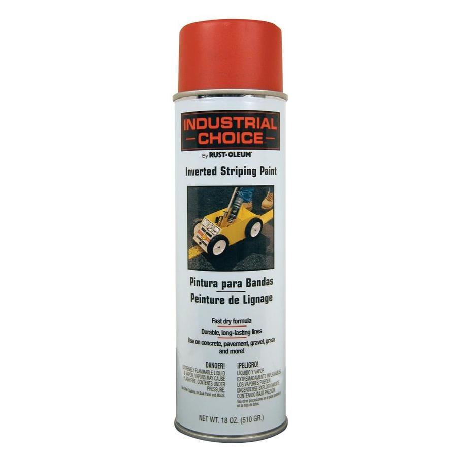 Rust-Oleum Industrial Choice Red Enamel Spray Paint (Actual Net Contents: 18-oz)
