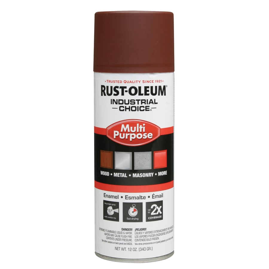 Shop Rust Oleum Industrial Choice Red Primer Spray Paint Actual Net Contents 12 Oz At
