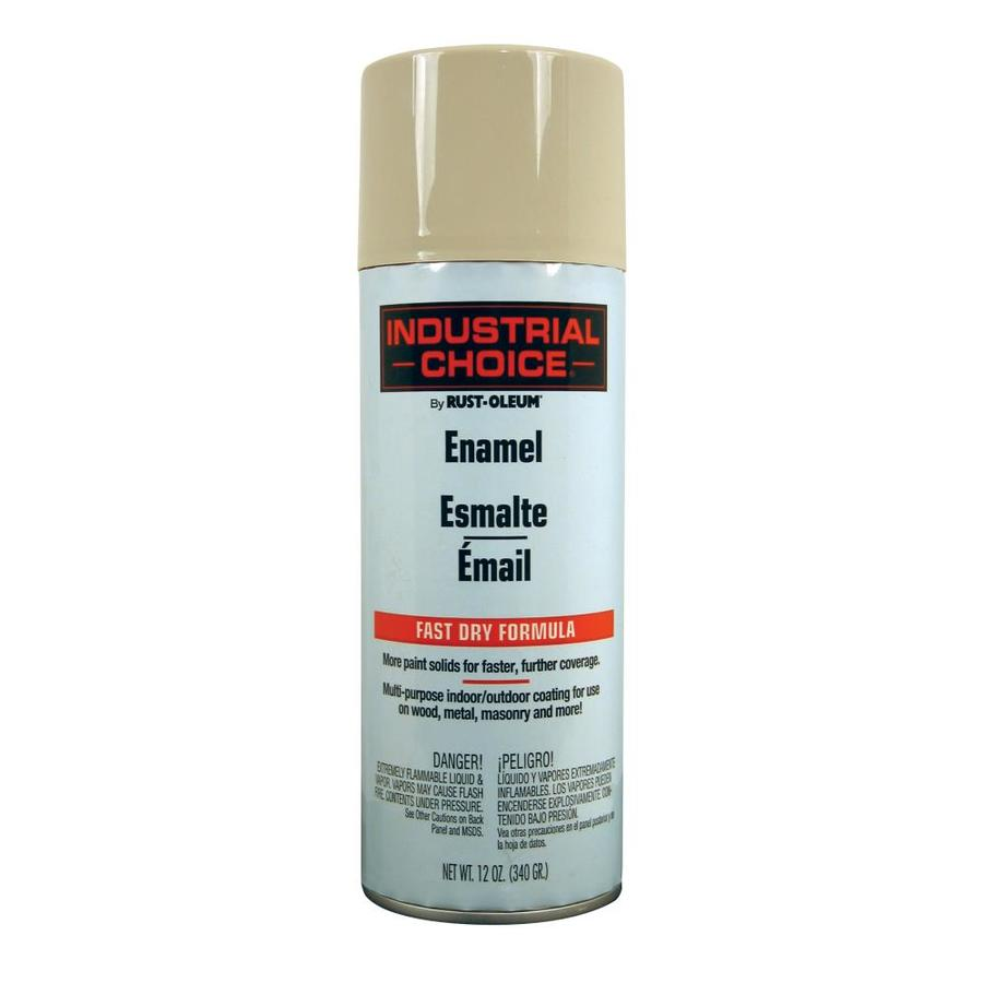 Rust-Oleum Industrial Choice Almond Enamel Spray Paint (Actual Net Contents: 12-oz)