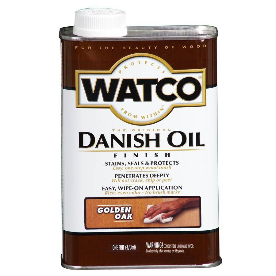 Rust-Oleum 16-oz Golden Oak Danish Oil