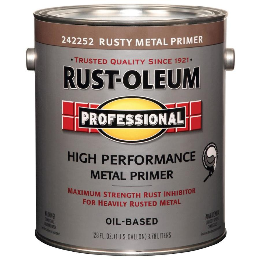 Rust-Oleum Professional Red/Flat Flat Oil-based Enamel Interior/Exterior Paint (Actual Net Contents: 128-fl oz)