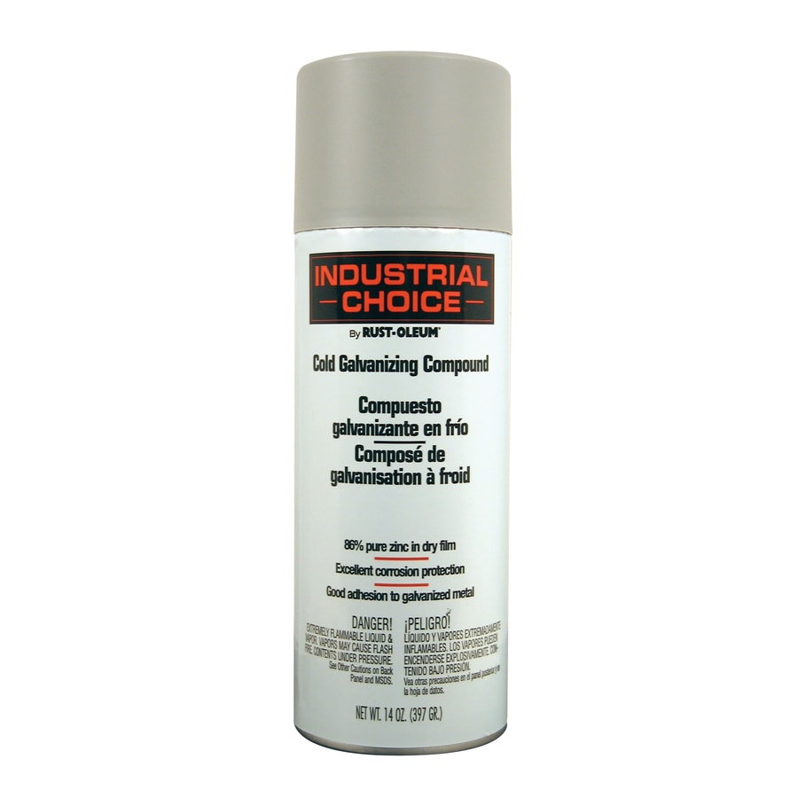 Rust-Oleum Industrial Choice Cold Galvanized Enamel Spray Paint (Actual Net Contents: 14-oz)