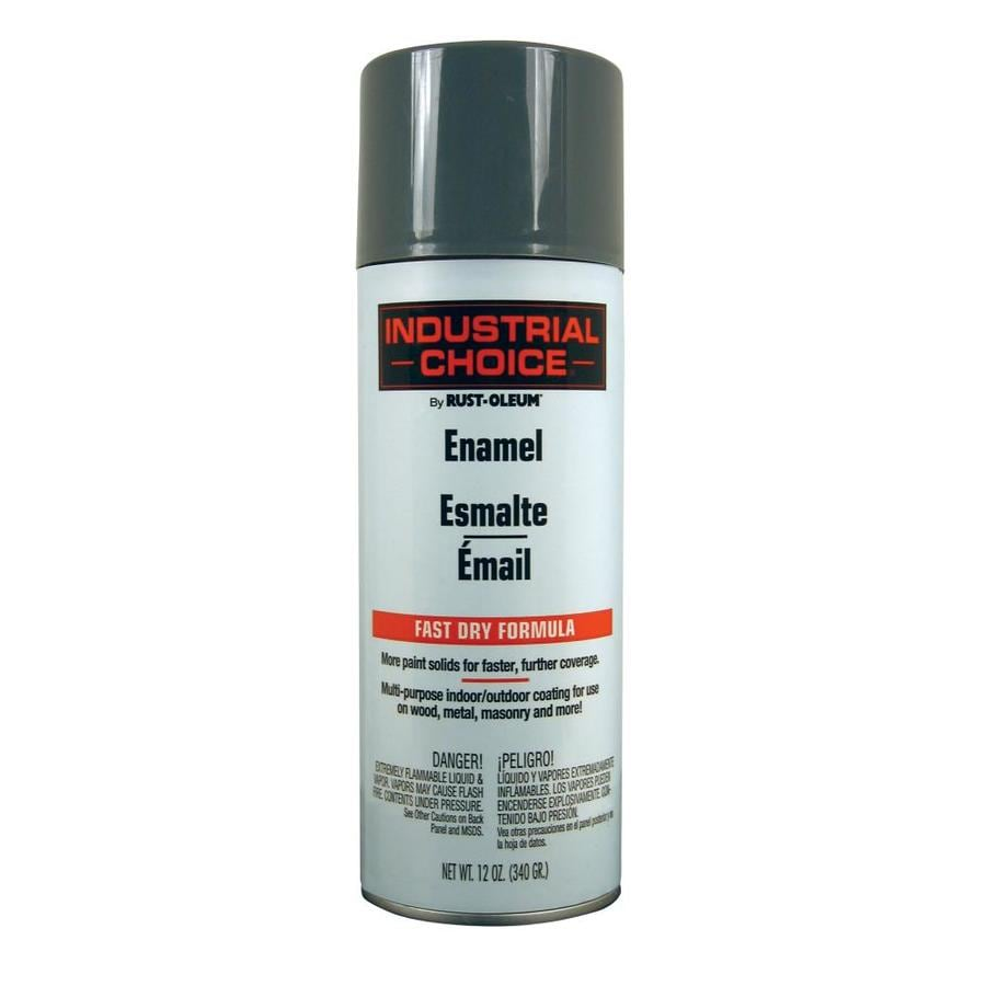 Rust-Oleum Industrial Choice Universal Gray Enamel Spray Paint (Actual Net Contents: 12-oz)