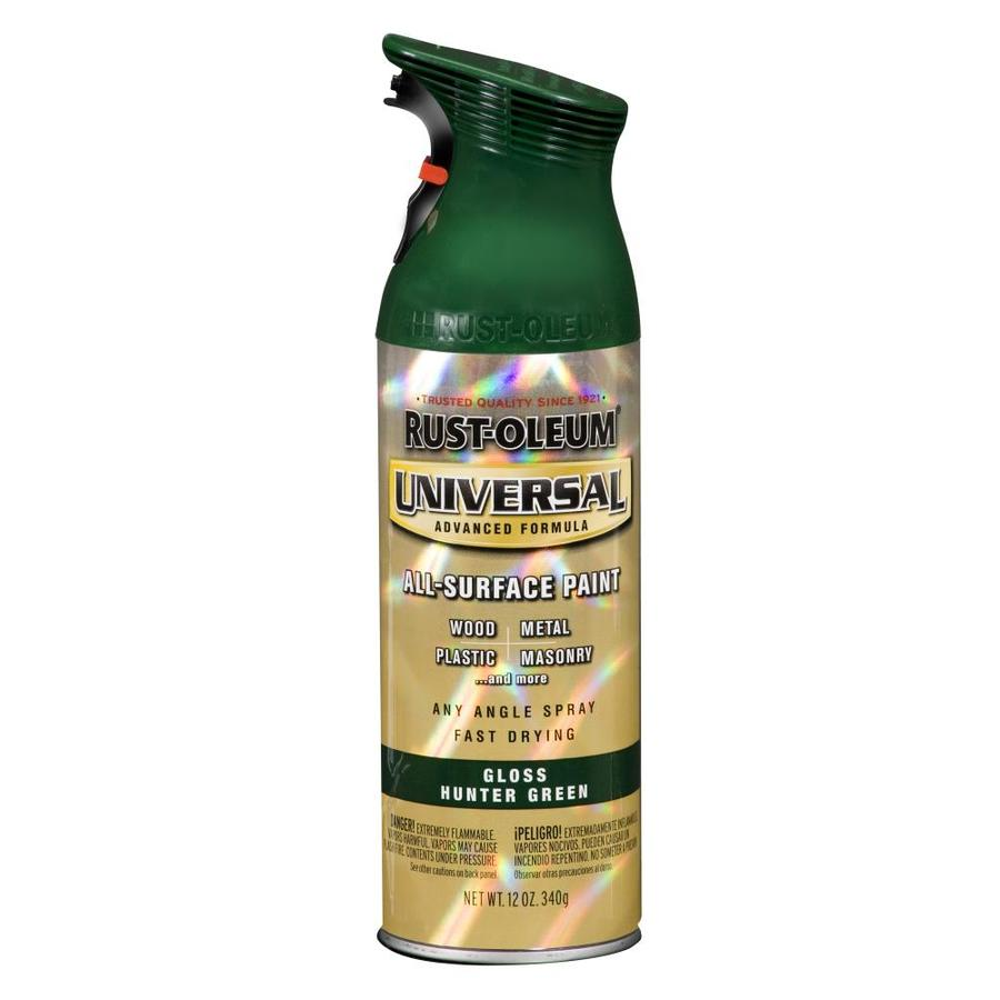 Rust-Oleum Universal Hunter Green Enamel Spray Paint (Actual Net Contents: 12-oz)