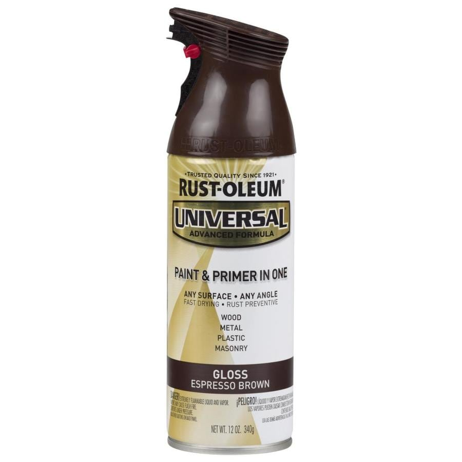 Rust-Oleum Universal Espresso Brown Enamel Spray Paint (Actual Net Contents: 12-oz)