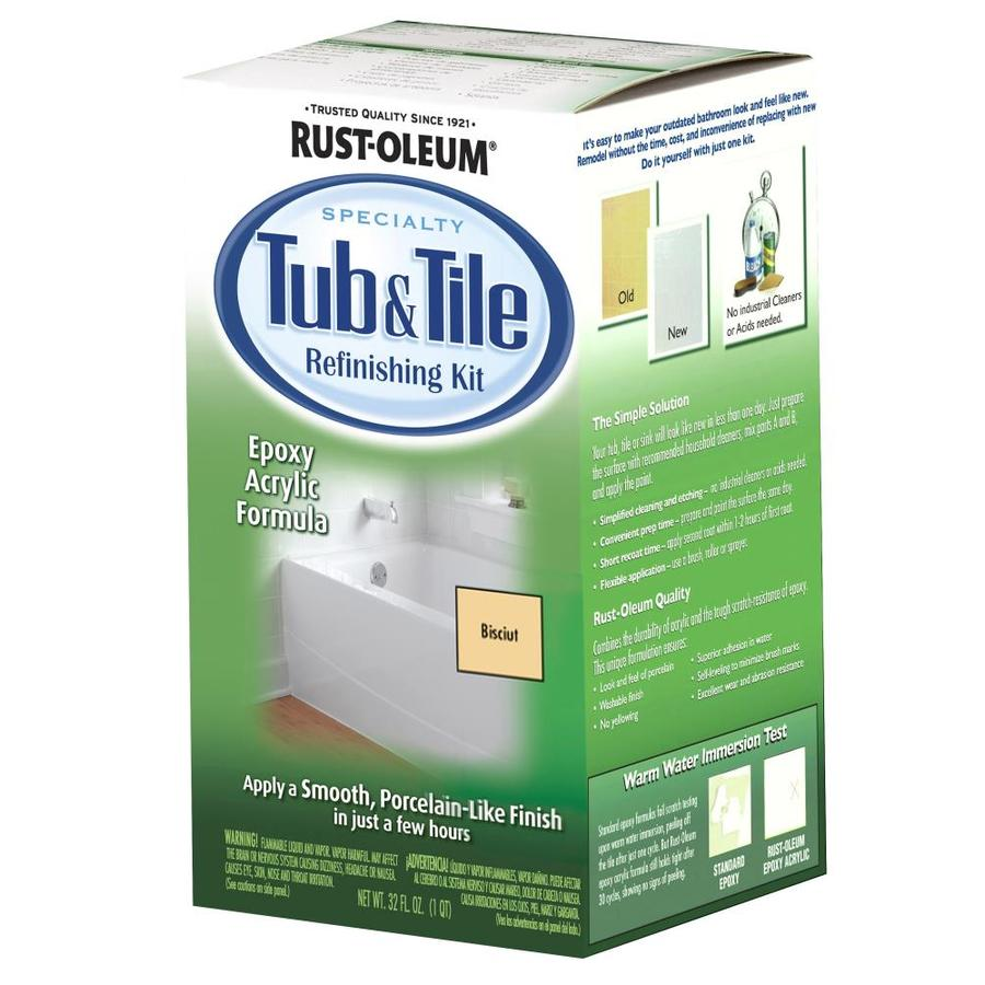 Rust-Oleum Specialty Light Base Satin Tub And Tile Resurfacing Kit (Actual Net Contents: 29-fl oz)