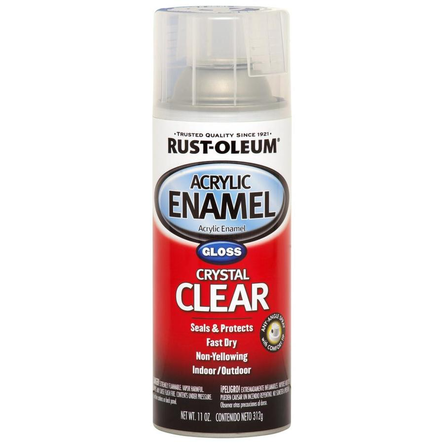 Shop Rust Oleum Clear Automotive Spray Paint Actual Net Contents 12 Oz At