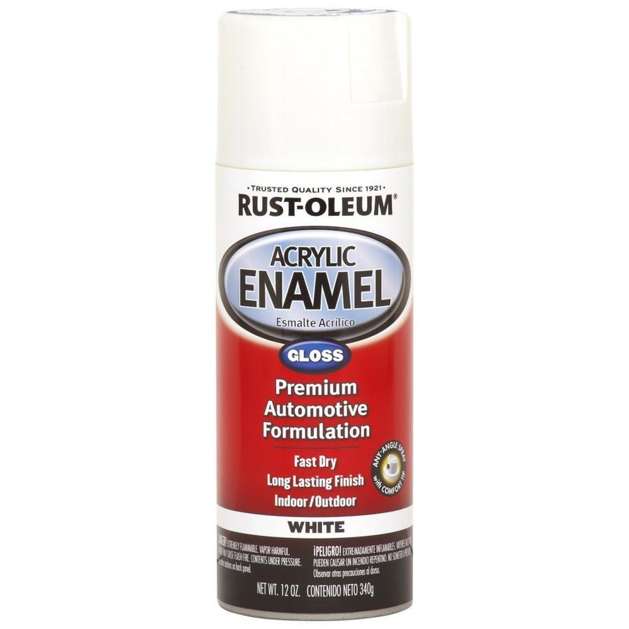 rust oleum automotive white enamel spray paint actual net contents. Black Bedroom Furniture Sets. Home Design Ideas