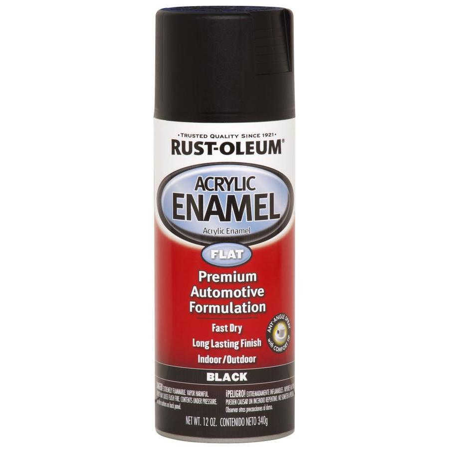 Rust-Oleum Automotive Black Fade Resistant Enamel Spray Paint (Actual Net Contents: 12-oz)