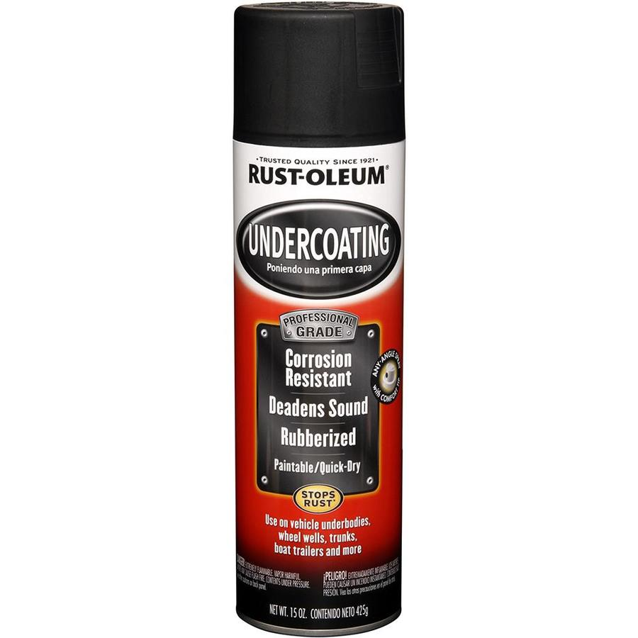 Rust-Oleum Automotive Undercoating Black Textured Fade Resistant Enamel Spray Paint (Actual Net Contents: 15 Oz.)