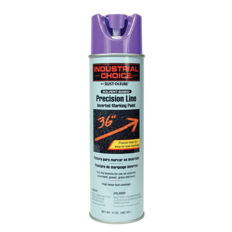 Rust-Oleum Industrial Choice 12-Pack Purple Water-based Marking Paint (Actual Net Contents: 17-fl oz)