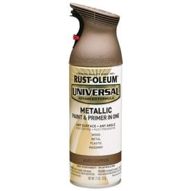 Rust-Oleum Universal Universal Gloss Aged Copper Metallic Spray Paint and Primer In One (Actual Net Contents: 11-oz)