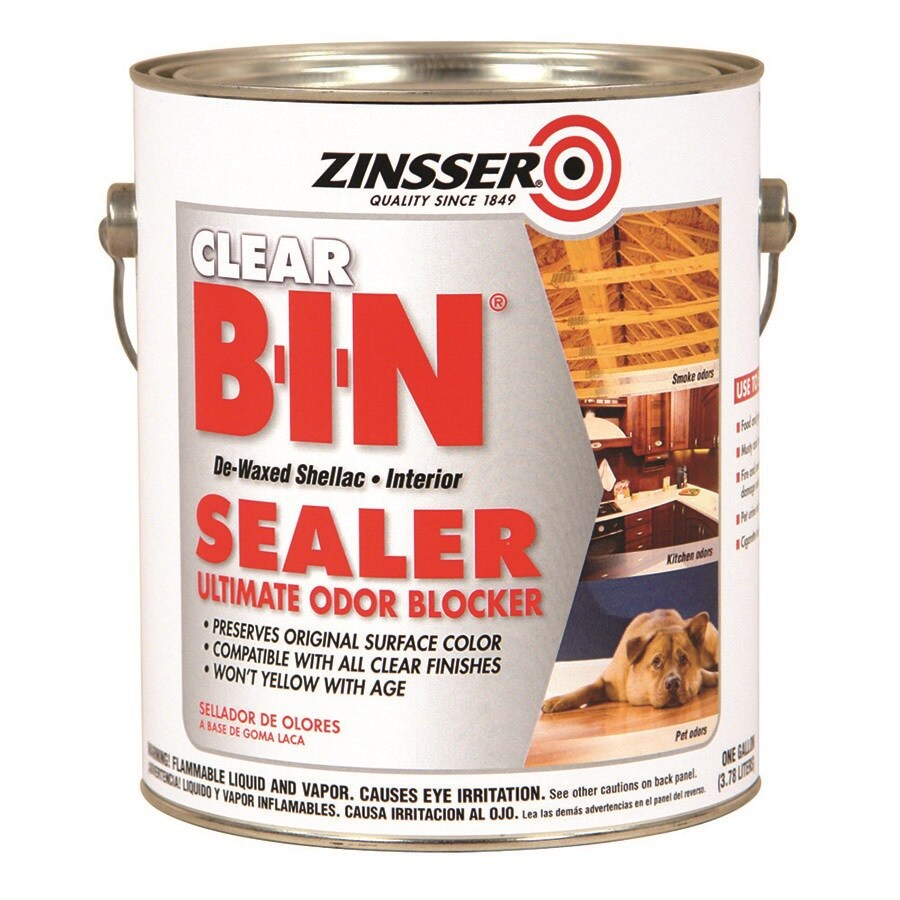 Zinsser B-I-N Interior Shellac Primer (Actual Net Contents: 128-fl oz)