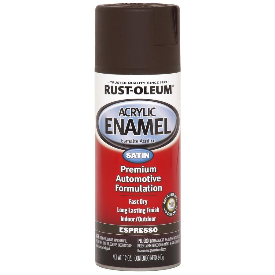 Rust-Oleum Automotive Espresso Fade Resistant Enamel Spray Paint (Actual Net Contents: 12-oz)