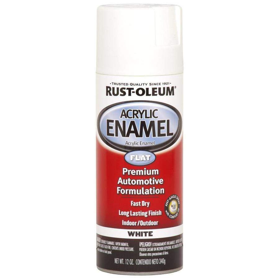 Rust-Oleum Automotive White Enamel Spray Paint (Actual Net Contents: 12-oz)