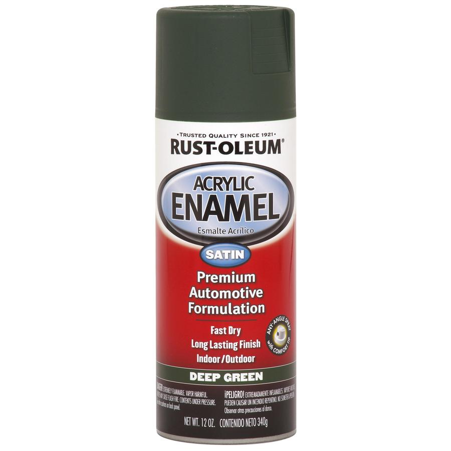 Rust-Oleum Automotive Green Fade Resistant Enamel Spray Paint (Actual Net Contents: 12-oz)