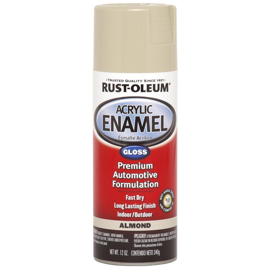 Rust-Oleum Automotive Almond Fade Resistant Enamel Spray Paint (Actual Net Contents: 12-oz)