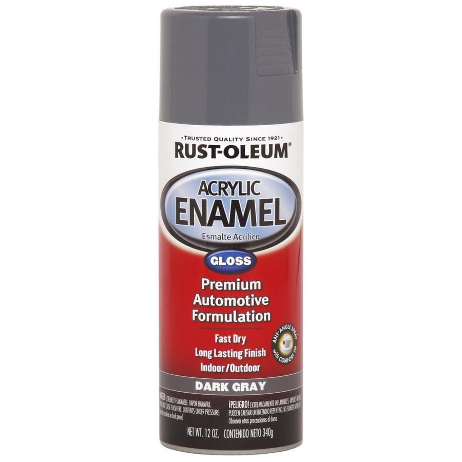Rust-Oleum Automotive Dark Gray Fade Resistant Enamel Spray Paint (Actual Net Contents: 12 Oz.)