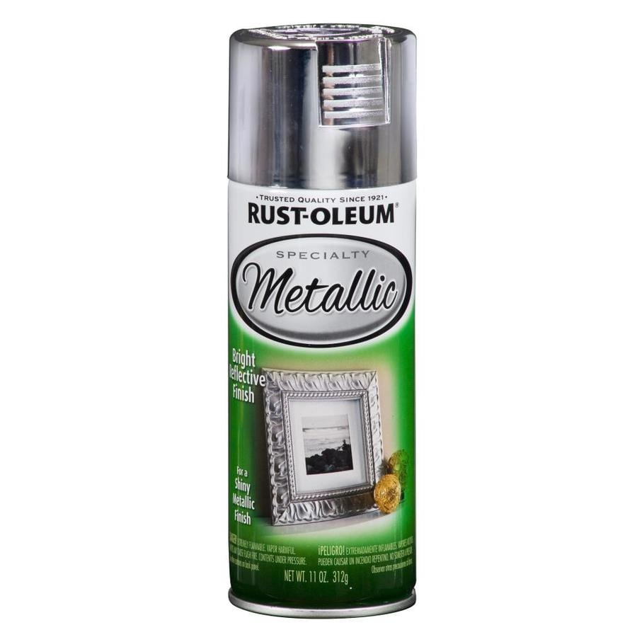 Rust-Oleum Specialty Metallic Silver Fade Resistant Spray Paint (Actual Net Contents: 11-oz)
