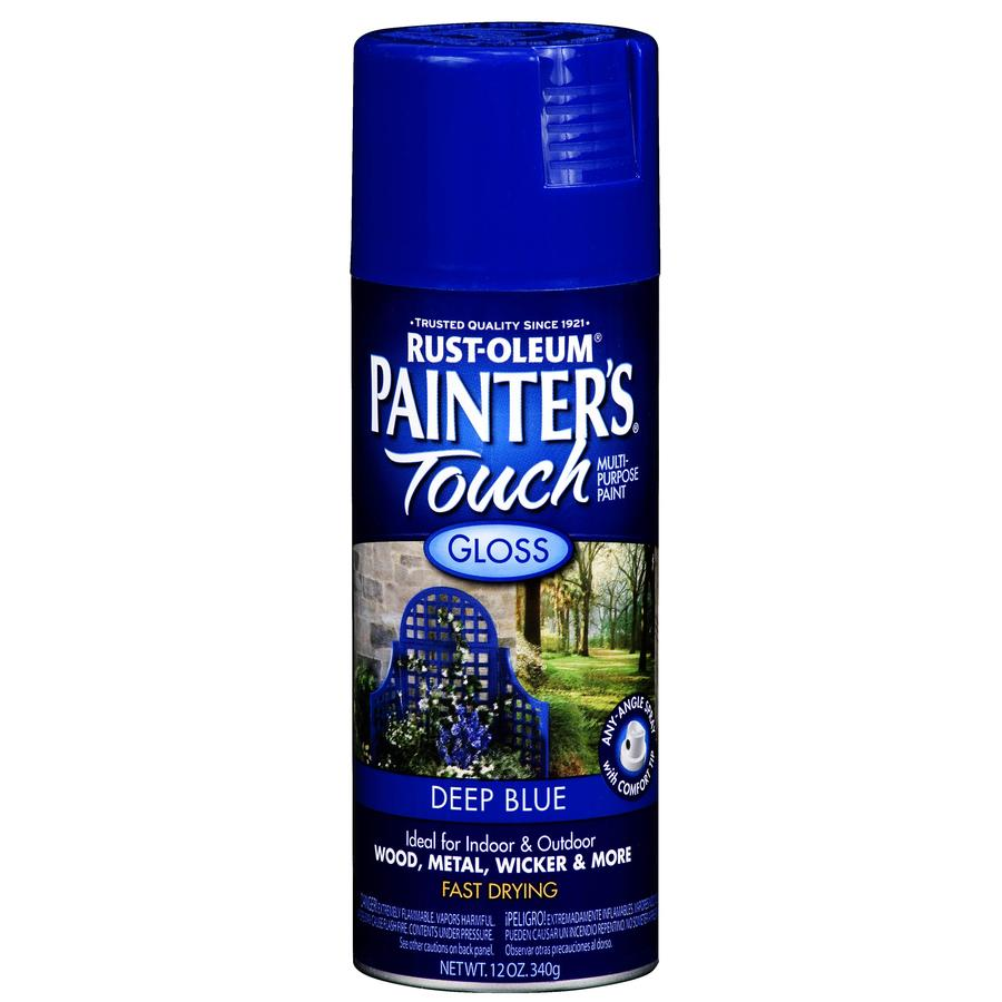Rust-Oleum 12 Oz. Deep Blue Gloss Spray Paint
