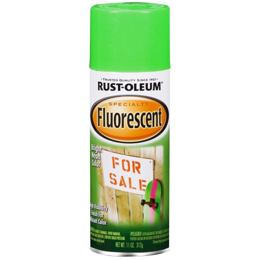 Rust-Oleum Specialty Specialty Green Fluorescent Enamel Spray Paint (Actual Net Contents: 11-oz)