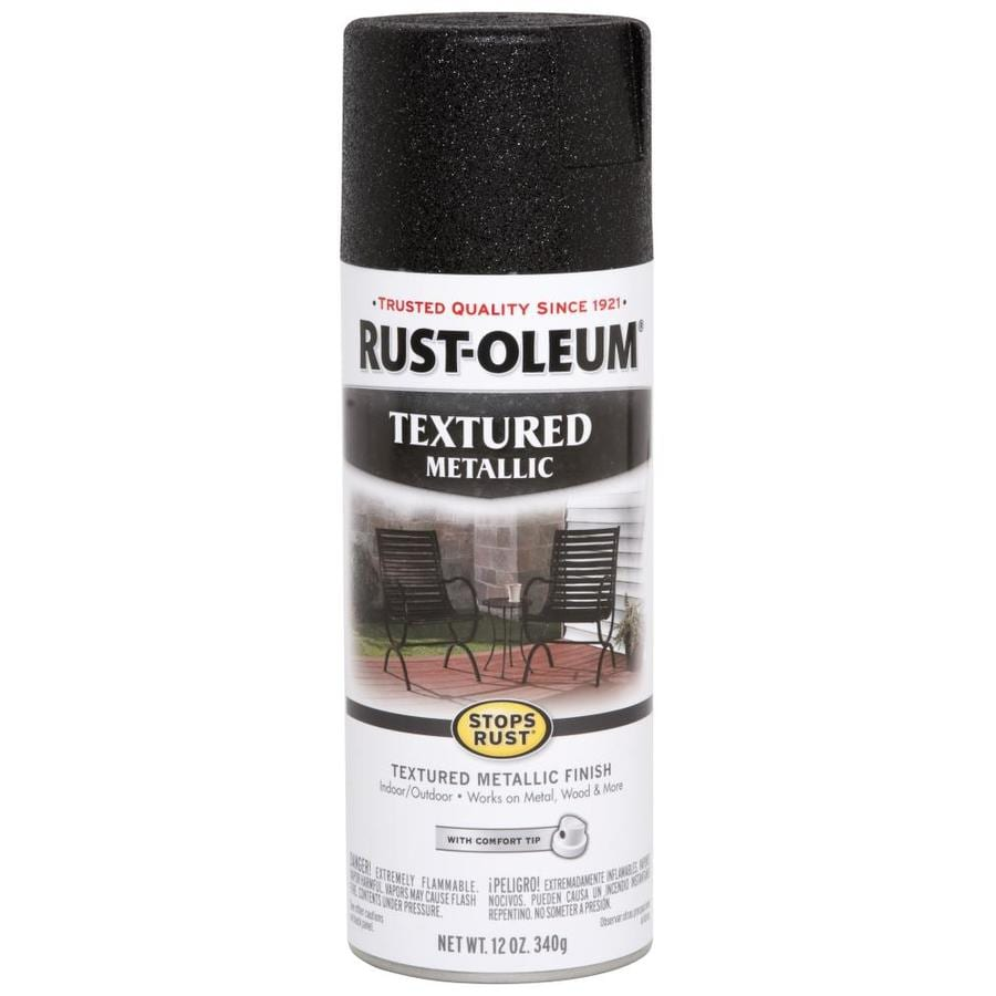 Rust-Oleum Stops Rust 11-oz Black High-Gloss Spray Paint