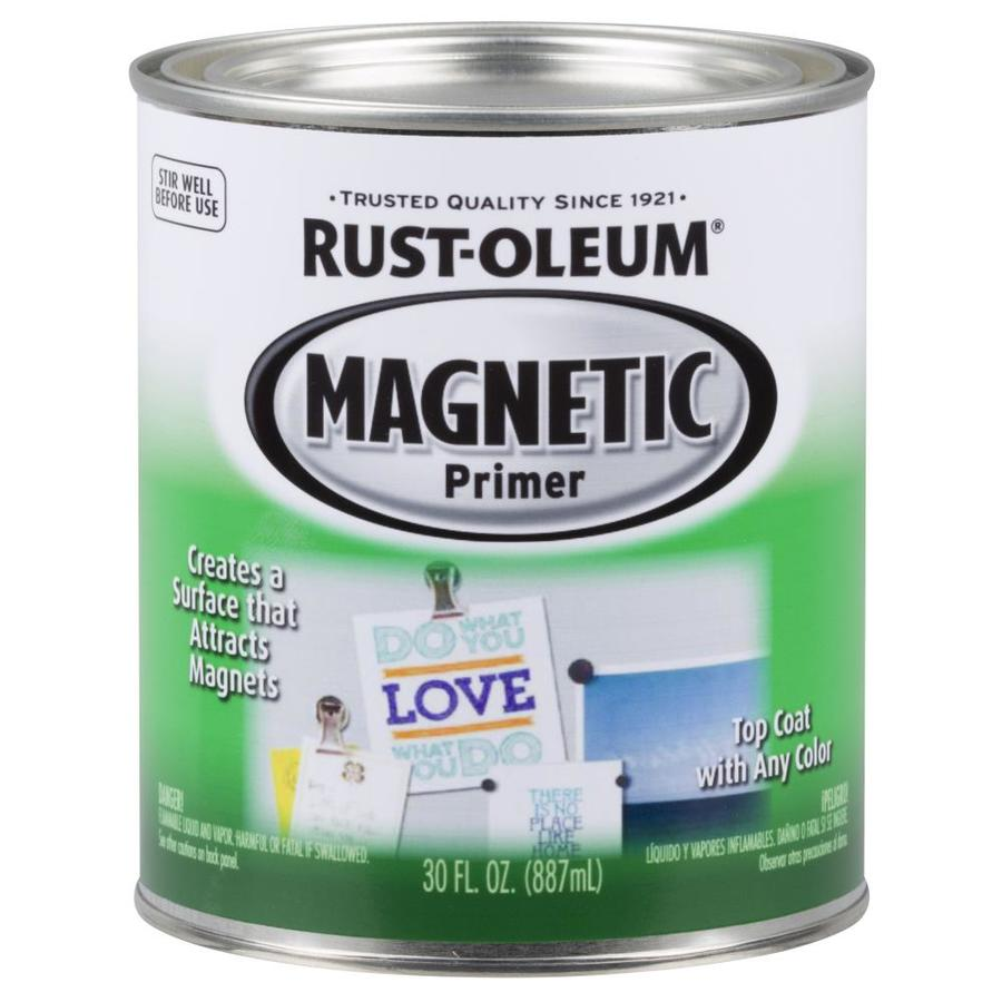Rust-Oleum Black Flat Magnetic Oil-Based Enamel Interior Paint (Actual Net Contents: 30-fl oz)