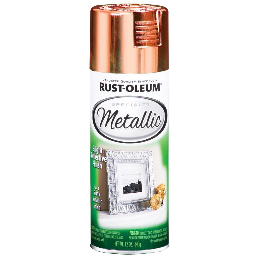 Rust-Oleum Specialty Metallic Copper Fade Resistant Spray Paint (Actual Net Contents: 11-oz)
