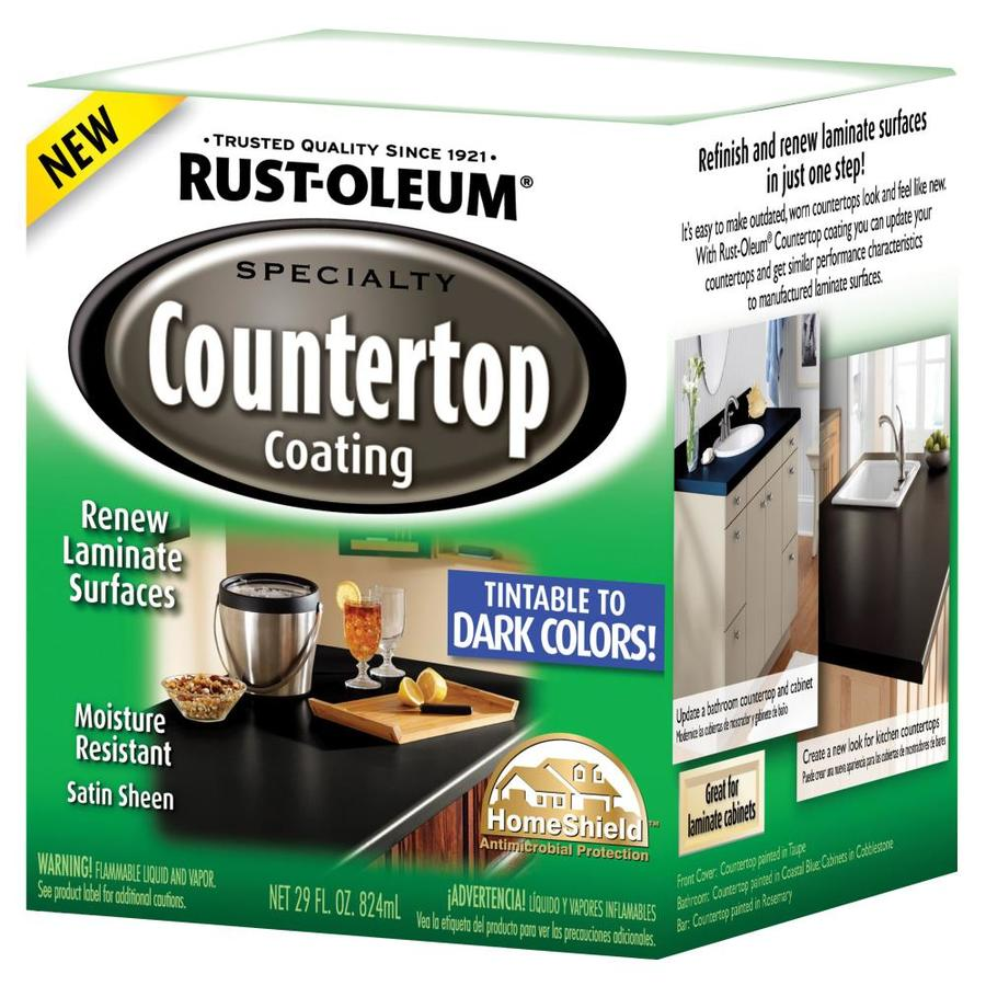 Shop Rust-Oleum Specialty Dark Base Satin Countertop