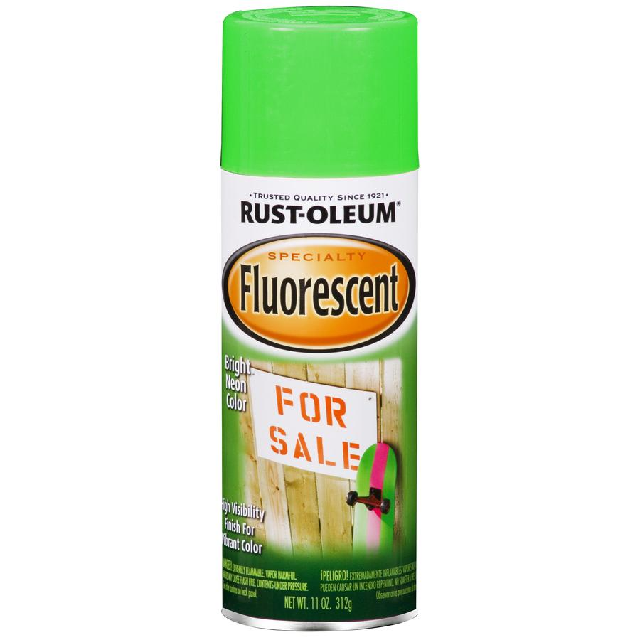 Rust-Oleum Specialty Marking Green Fluorescent Fade Resistant Enamel Spray Paint (Actual Net Contents: 11-oz)