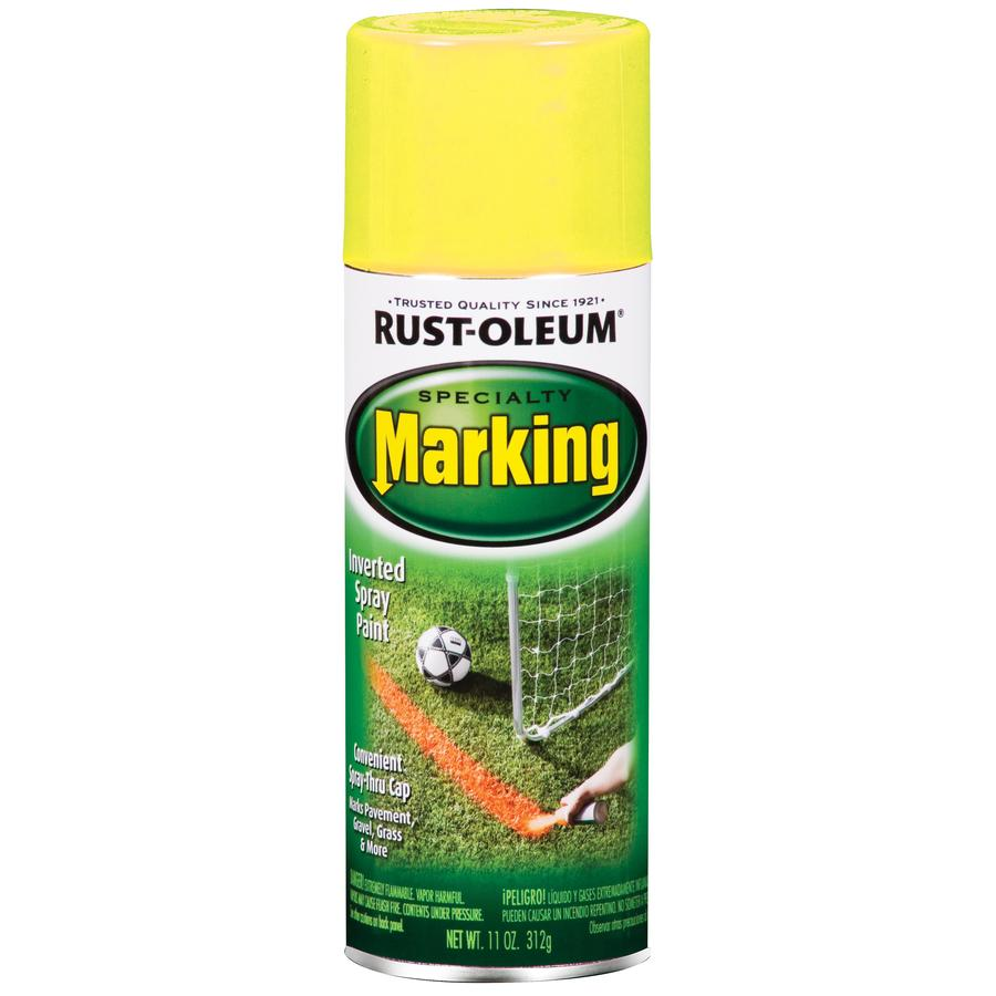 Rust-Oleum Specialty Marking Yellow Fade Resistant Enamel Spray Paint (Actual Net Contents: 11-oz)