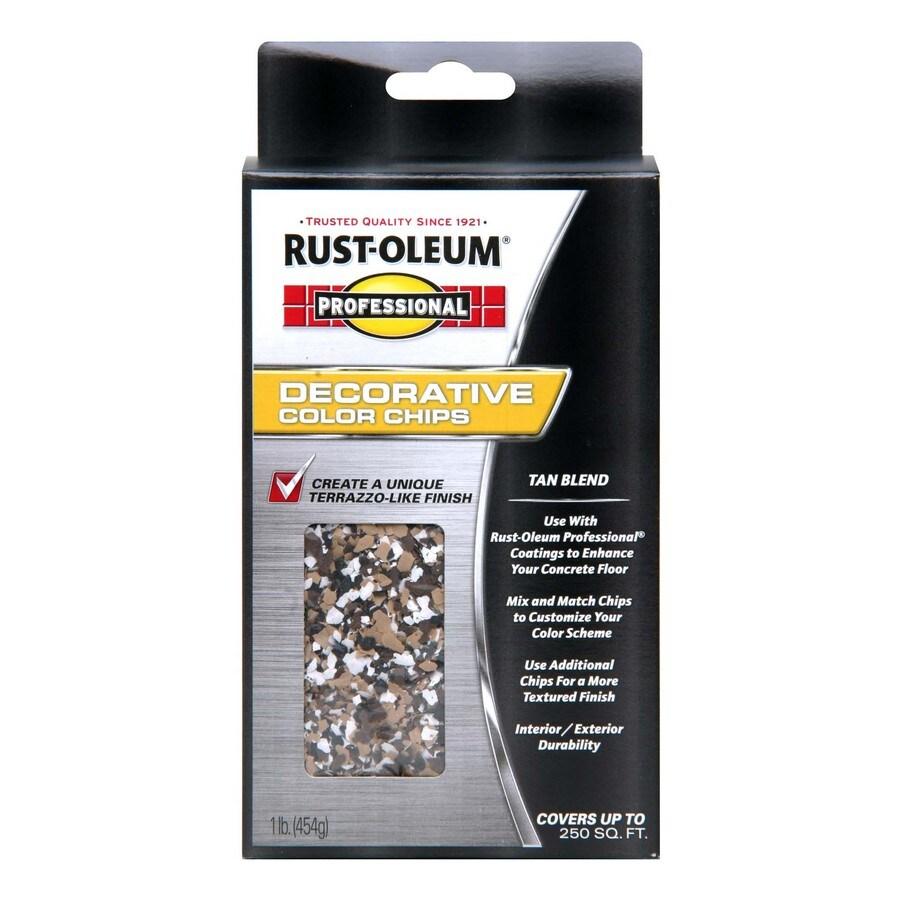 Rust-Oleum Professional Professional - 1lb Tan Chip Blend