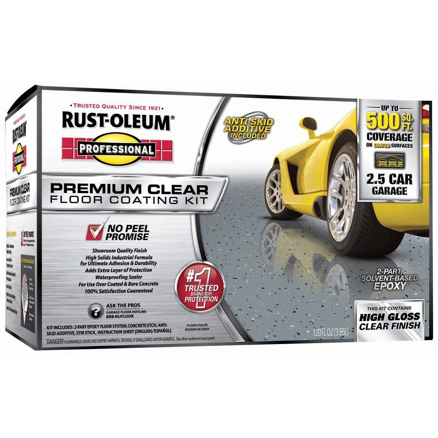 Rust-Oleum Professional 1-Gallon Interior Gloss Clear Oil-Base Paint and Primer in One