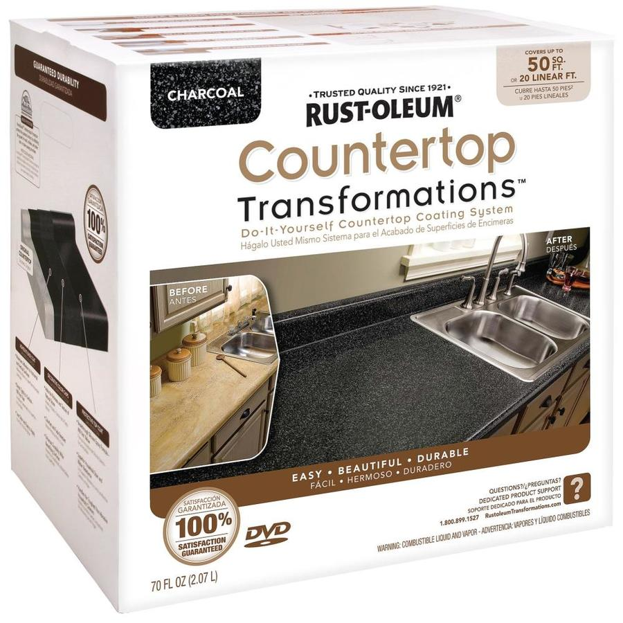 Rust-Oleum Countertop Transformations Charcoal Semi-gloss Countertop Resurfacing Kit (Actual Net Contents: 70-fl oz)