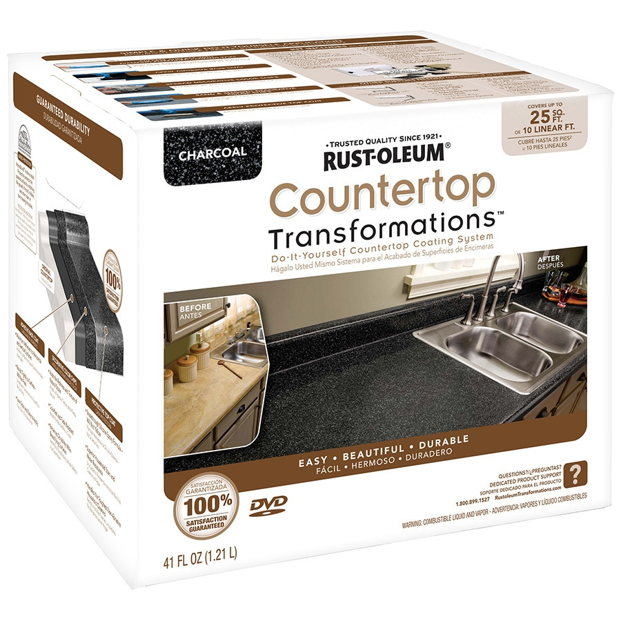 Countertop Paint Kit Lowes : ... Semi-Gloss Countertop Resurfacing Kit (Actual Net Contents: 41-fl oz