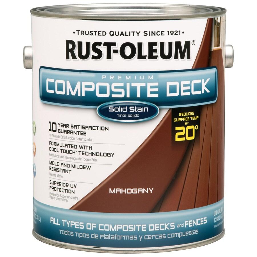 Rust-Oleum Solid Exterior Stain (Actual Net Contents: 128-fl oz)