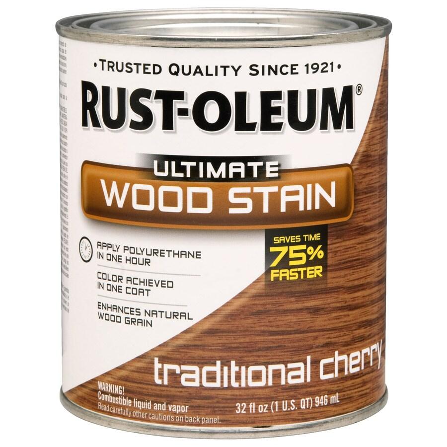 Rust-Oleum 1-Quart Traditional Cherry Wood Stain