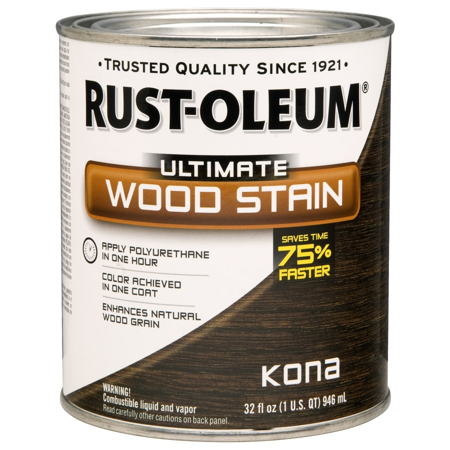 Rust Oleum 1 Quart Kona Wood Stain At Lowes Com 1801 wyandotte st e, windsor, on, canada. lowe s