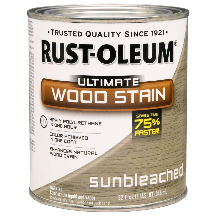 Rust-Oleum 1-Quart Sunbleached Wood Stain