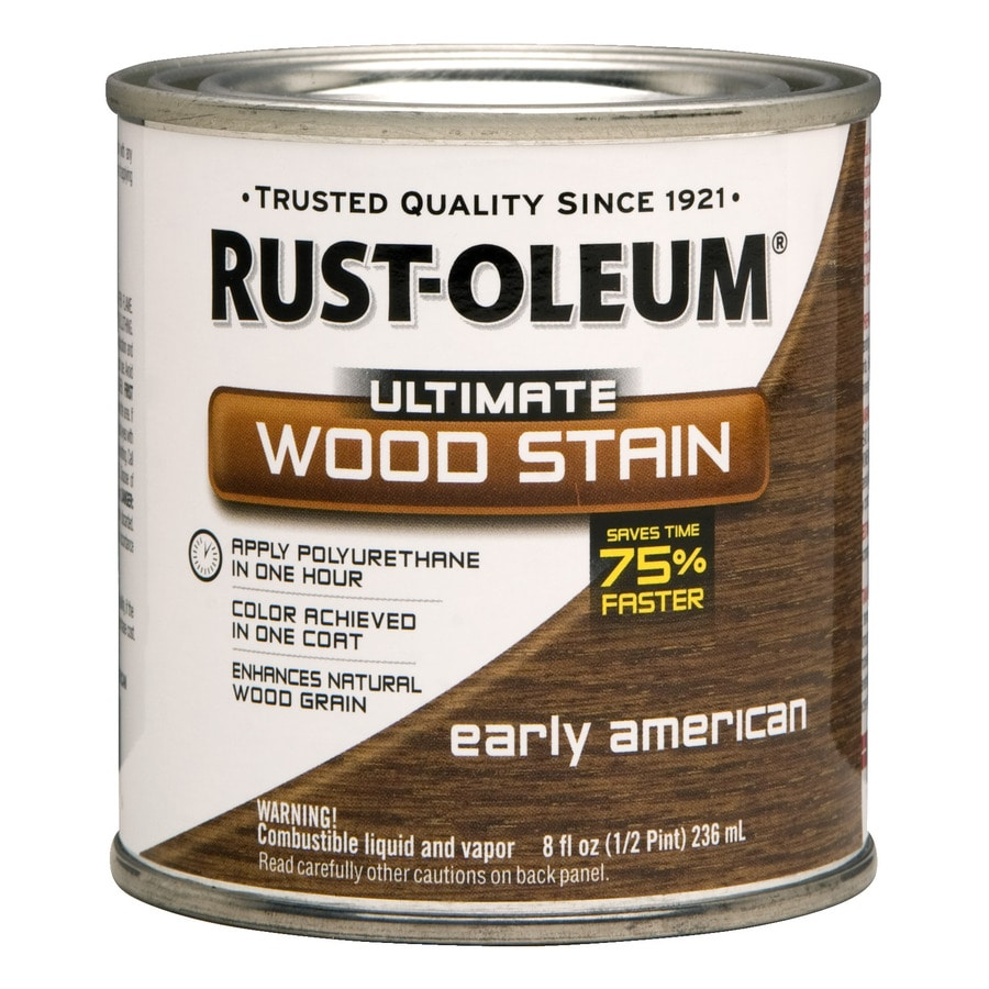 Rust-Oleum Early American Wood Stain
