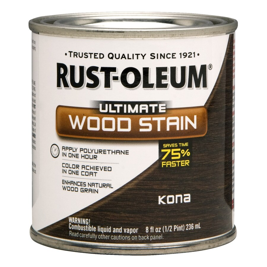 Rust-Oleum Kona Interior Stain (Actual Net Contents: 8-fl oz)