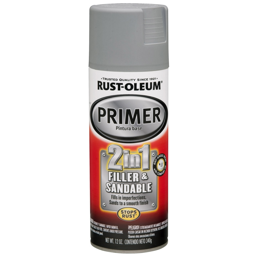 Rust-Oleum Automotive Gray Rust Resistant Primer Spray Paint (Actual Net Contents: 12 Oz.)