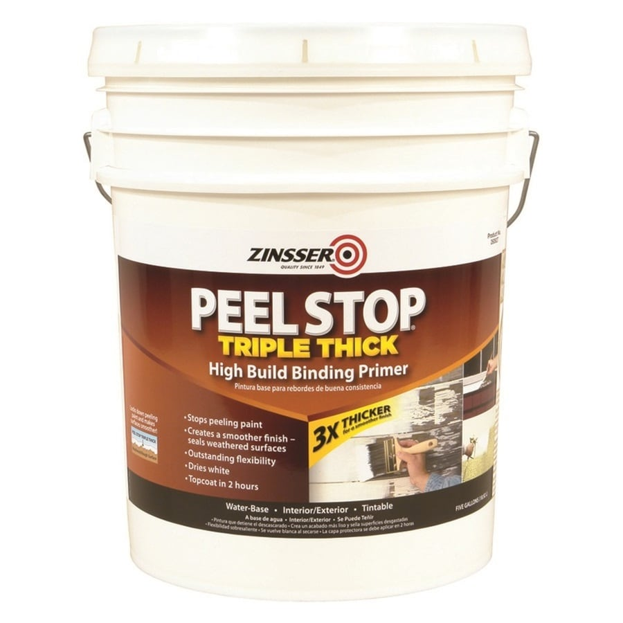 Shop Zinsser Peel Stop Triple Thick Interior Exterior Bonding Water Based Primer Actual Net