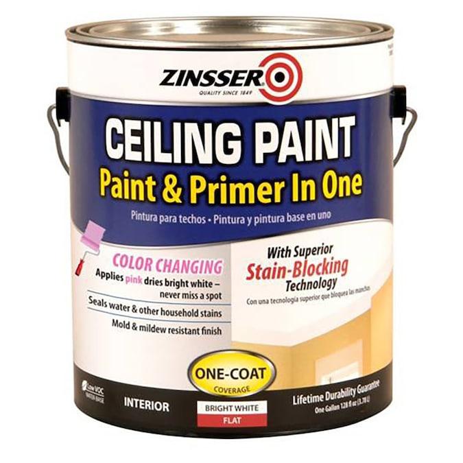 Flat Bright White Enamel Interior Paint