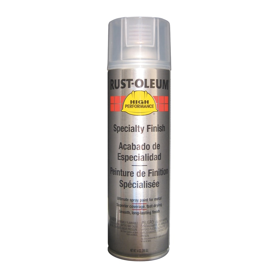 Rust-Oleum High Performance Crystal Clear Enamel Spray Paint (Actual Net Contents: 14-oz)
