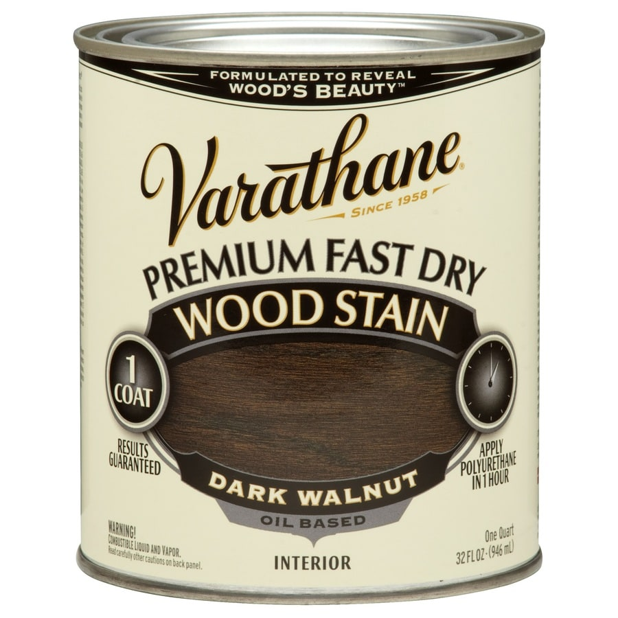 Varathane Premium Fast Dry DARK WALNUT Interior Stain (Actual Net Contents: 32-fl oz)