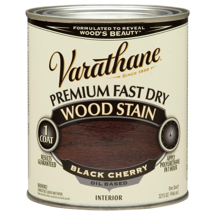 Varathane Black Cherry Interior Stain (Actual Net Contents: 32-fl oz)